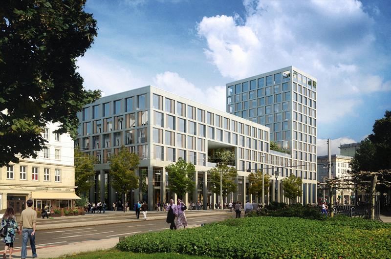 Junk reich architekten bda planungsgesellschaft mbh verwaltungsgeb ude blauer bock - Architekten magdeburg ...